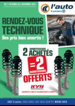 Prospectus L'auto E.Leclerc : Rendez-vous technique, des prix bien amortis !