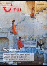 Prospectus Nouvelles frontières : Voyages individuels