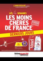 Prospectus Intermarché Hyper : Les 4 semaines les moins chères de France. Semaine 4