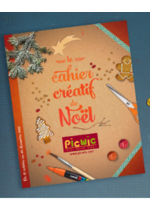 Promos et remises  : Le cahier créatif de Noël