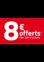 Bons Plans Auchan drive : 8€ offerts dès 50€ d'achats