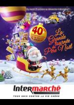 Catalogues et collections Intermarché Hyper : La grande tournée du Père Noël