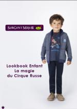 Catalogues et collections Sergent Major : Lookbook enfant La magie du cirque russe