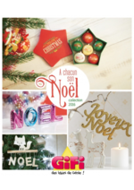 Prospectus Gifi : Décorations de Noël Collection 2016
