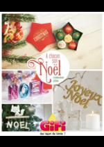 Prospectus Gifi : Décorations de Noël Collection 2016