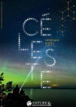 Catalogues et collections Nature & Découvertes : Céleste - Catalogue de Noël
