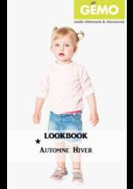 Catalogues et collections Gemo : Lookbook automne-hiver bébé