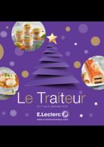 Menus E.Leclerc : Le traiteur