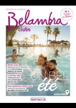 Promos et remises  : Belambra clubs 2017