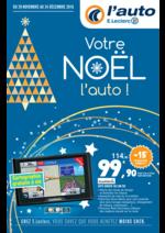 Prospectus L'auto E.Leclerc : Votre Noël l'auto !