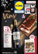 Prospectus Lidl : La foire aux vins