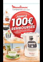 Prospectus Auchan : Moulinex jusqu'à 100€ remboursés