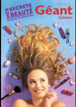 Prospectus Géant Casino : Mes secrets beauté
