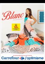 Prospectus Carrefour : Le Blanc collection 2017
