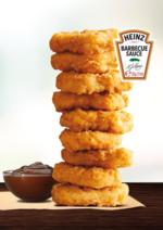 Promoções e descontos  : 1,49€ por 9 chicken Nuggets