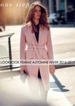 Catalogues et collections One Step : Lookbook femme automne hiver 2016-2017