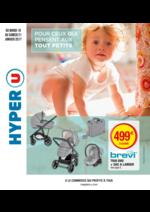 Prospectus Hyper U : Pour ceux qui pensent aux tout petits