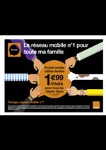 Prospectus Orange : Forfait mobile édition limitée 1,99€ par mois