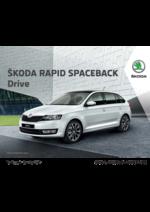 Guides et conseils Skoda : Découvrez la Rapid spaceback drive