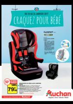 Prospectus Auchan : Craquez pour bébé