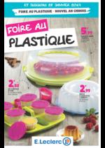 Prospectus E.Leclerc : Foire au plastique
