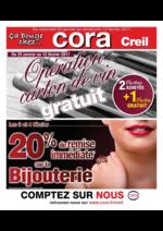 Prospectus Cora : Opération carton de vin gratuit