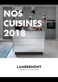 Catalogues et collections Meubles Lambermont  : Nos cuisines 2017