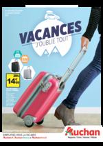 Prospectus Auchan : Vacances j'oublie tout