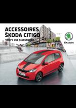 Tarifs Skoda : Le tarif des accessoires Skoda Citigo