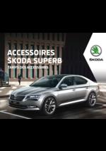 Promos et remises  : Tarifs des accessoires Skoda Superb