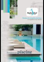Catalogues et collections Hydrosud : Tendances piscine