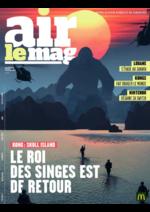Journaux et magazines Mc Donald's : Air le Mag du mois de Février 2017
