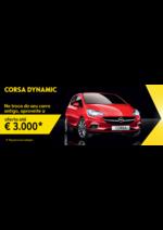 Promoções e descontos Opel : Opel Corsa aproveite a oferta até 3000€*