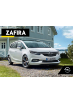 Catalogues et collections opel : Opel Zafira