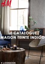 Catalogues et collections H&M : Le catalogue maison Teinte indigo