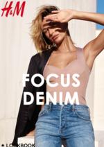 Catalogues et collections H&M : Lookbook femme Focus denim