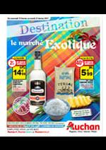 Prospectus Auchan : Destination le marché exotique