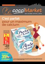 Prospectus CocciMarket : C'est parfait pour un maximum de calcium