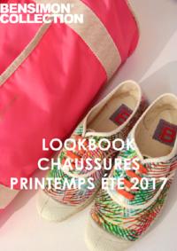 Catalogues et collections Bensimon Boulogne : Lookbook Chaussures printemps été 2017