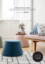 Catalogues et collections Søstrene Grene : Les Poufs sont disponibles en magasin !