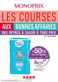 Prospectus Monoprix LA CELLE SAINT CLOUD : Les courses aux bonnes affaires