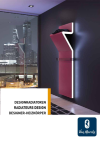 Catalogues et collections Van Marcke Technics GHISLENGHIEN : Catalogue Radiateurs design