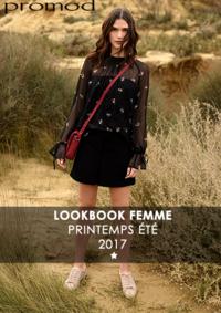 Catalogues et collections Promod Montesson : Lookbbook printemps été 2017
