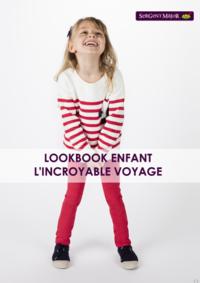 Catalogues et collections Sergent Major Mons : Lookbook enfant L'incroyable voyage