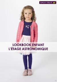 Catalogues et collections Sergent Major Bruxelles  - Rue des Fripiers : Lookbook enfant L'étage astronomique