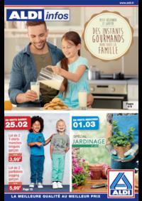 Prospectus Aldi Asnières-sur-Seine : Des instants gourmands pour toute la famille