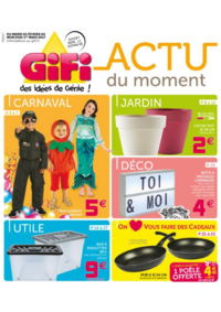 Prospectus Gifi AUBERGENVILLE : Actu du moment