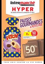 Prospectus Intermarché Hyper : Pauses gourmandes à petits prix