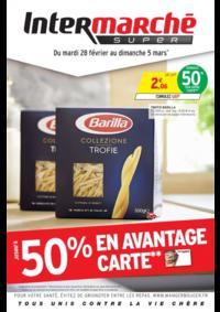 Prospectus Intermarché Super Bondy : Jusqu'à 50% en avantage carte