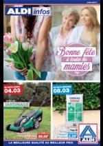 Prospectus Aldi : Bonne fête à toutes les mamies